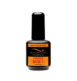Bio Seaweed Gel Stronger Base-1 Coat 15ml - Bio Seaweed Gel Color