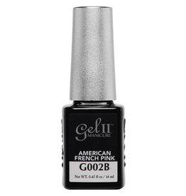 Gel II G002B American French Pink - Gel II Gel Polish