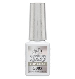 Gel II G00X Xtreme Shine Top Coat 14ml - Gel II Gel Polish