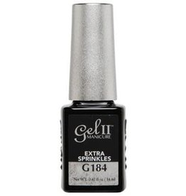 Gel II G184 Extra Sprinkles - Gel II Gel Polish