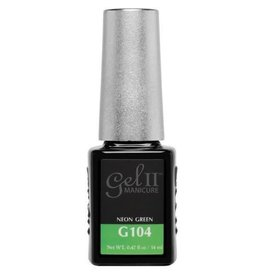 Gel II G104 Neon Green - Gel II Gel Polish