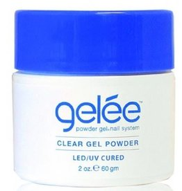 gelée Clear Gel Powder 2 oz. 60g  LED-UV Cured - gelée - Powder Gel Nail System