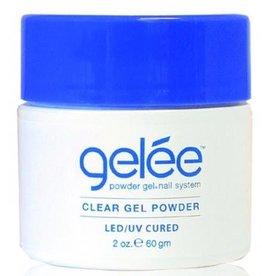 gelée Clear Gel Powder 2 oz. 60g  LED-UV Cured - gelée - Powder Gel Nail System