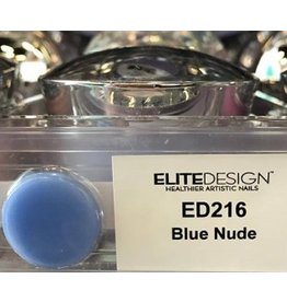 Premium Nails ED216 Blue Nude 40 g - Dip Powder - Healthier Artistic Nails - ELITEDESIGN PREMIUM NAILS