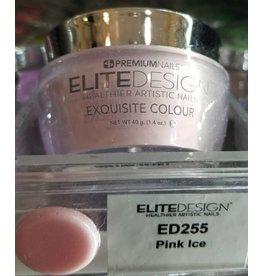 Premium Nails ED255 Pink Ice 40 g - Dip Powder - Healthier Artistic Nails - ELITEDESIGN PREMIUM NAILS