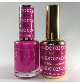 DND 023 BLOSSOM ORCHID - DND DC Duo Gel Matching Color
