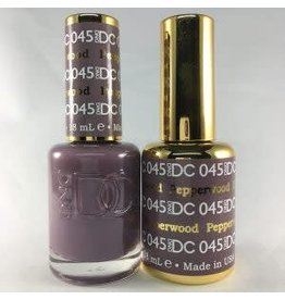 DND 045 PEPPERWOOD - DND DC Duo Gel Matching Color