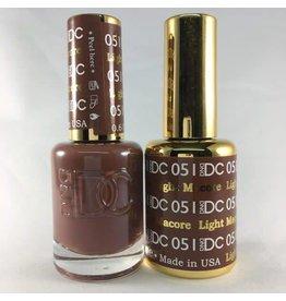 DND 051 LIGHT MACORE - DND DC Duo Gel Matching Color