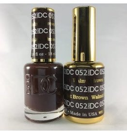 DND 052 WALNUT BROWN - DND DC Duo Gel Matching Color