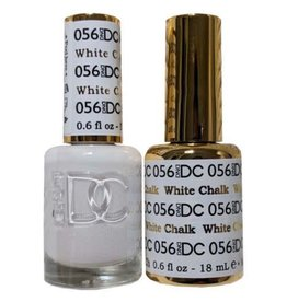 DND 056 WHITE CHALK - DND DC Duo Gel Matching Color