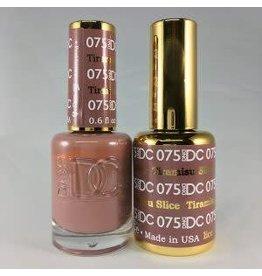DND 075 TIRAMISU SLICE - DND DC Duo Gel Matching Color