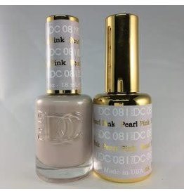 DND 081 PEARL PINK - DND DC Duo Gel Matching Color