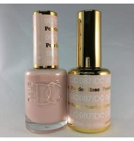 DND 087 ROSE POWDER - DND DC Duo Gel Matching Color
