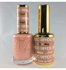 DND 089 YELLOW MAPLE - DND DC Duo Gel Matching Color