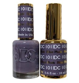 DND 101 BLUE PLUM - DND DC Duo Gel Matching Color