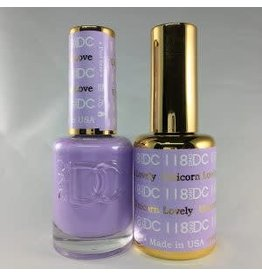 DND 118 UNICORN LOVELY - DND DC Duo Gel Matching Color