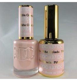 DND 137 PINA COLADA - DND DC Duo Gel Matching Color