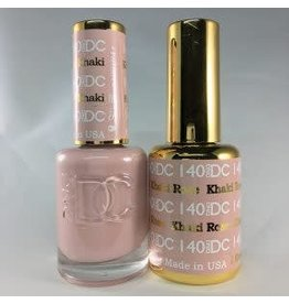 DND 140 KHAKI ROSE - DND DC Duo Gel Matching Color