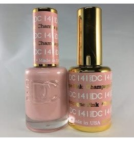 DND 141 PINK CHAMPAGNE - DND DC Duo Gel Matching Color