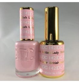 DND 142 BRITISH LADY - DND DC Duo Gel Matching Color