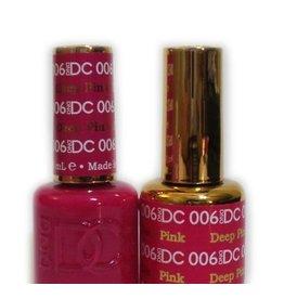 DND 006 DEEP PINK - DND DC Duo Gel Matching Color
