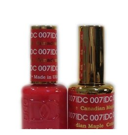 DND 007 CANADIAN MAPLE - DND DC Duo Gel Matching Color