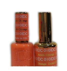 DND 010 DUTCH ORANGE - DND DC Duo Gel Matching Color