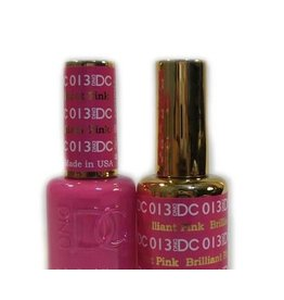 DND 013 BRILLIANT PINK - DND DC Duo Gel Matching Color
