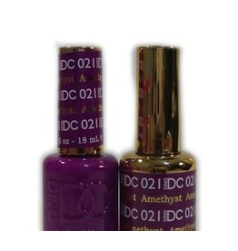DND 021 AMETHYST - DND DC Duo Gel Matching Color