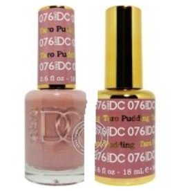 DND 076 TARO PUDDING - DND DC Duo Gel Matching Color
