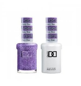 DND 404 Lavender Daisy - DND Duo Gel + Lacquer