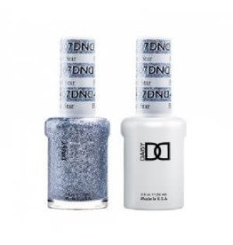 DND 407 Black Diamond  - DND Duo Gel + Lacquer