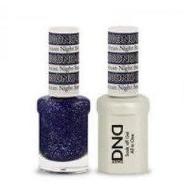 DND 410 Ocean Night  - DND Duo Gel + Lacquer