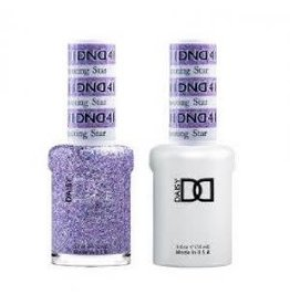 DND 411 Shooting Star - DND Duo Gel + Lacquer