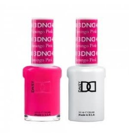 DND 413 Flamingo Pink - DND Duo Gel + Lacquer