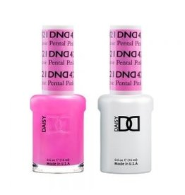 DND 421 Rose Petal Pink - DND Duo Gel + Lacquer