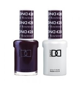 DND 428 Rosewood - DND Duo Gel + Lacquer