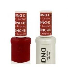 DND 431 Raspberry - DND Duo Gel + Lacquer