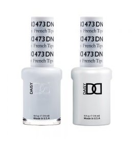 DND 473 French Tips - DND Duo Gel + Lacquer