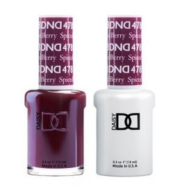 DND 478 Spiced Berry - DND Duo Gel + Lacquer