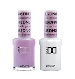 DND 485 First Impression - DND Duo Gel + Lacquer