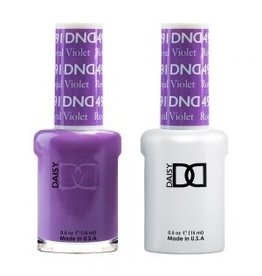 DND 491 Royal Violet - DND Duo Gel + Lacquer
