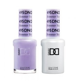 DND 495 Shimmer Sky - DND Duo Gel + Lacquer