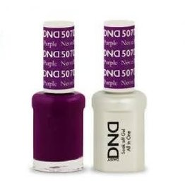 DND 507 Neon Purple - DND Duo Gel + Lacquer