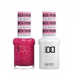DND 519 Strawberry Candy - DND Duo Gel + Lacquer