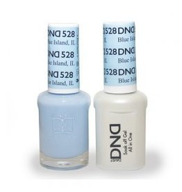 DND 528 Blue Island IL - DND Duo Gel + Lacquer