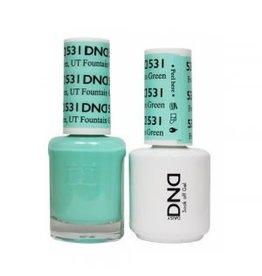 DND 531 Fountain Green UT - DND Duo Gel + Lacquer