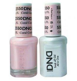 DND 550 Coral Castle FL - DND Duo Gel + Lacquer