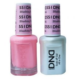 DND 551 Blushing Pink - DND Duo Gel + Lacquer