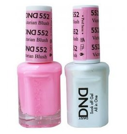 DND 552 Victorian Blush - DND Duo Gel + Lacquer